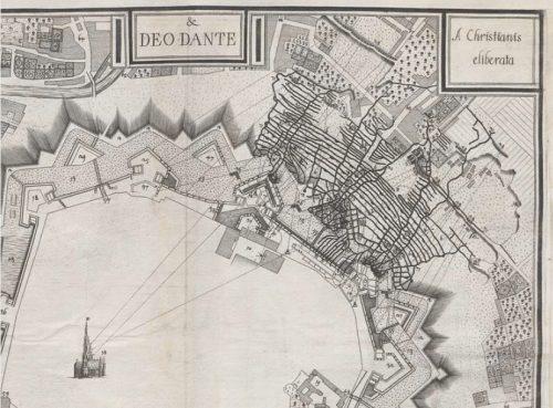 Belagerung Wiens 1683. Quelle: Württembergische Landesbibliothek Stuttgart, Sammlung Nicolai.