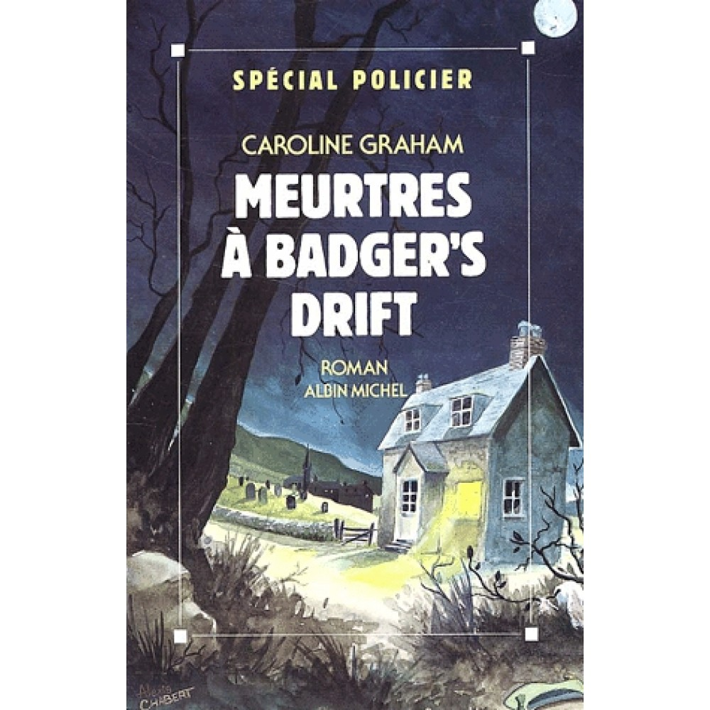 Illustration 3: Cover of the French translation of The Killings at Badger's Drift