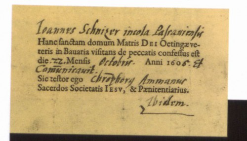 BHStA München, HP, BlK 35, Nr.4, Fasz.19
