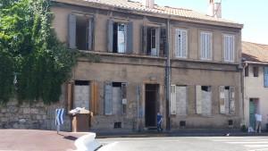 Squat à Marseille - juillet 2015