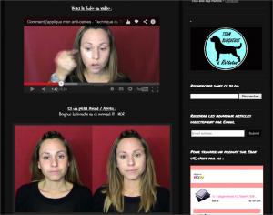Tutoriel vidéo, blog Lory Lyn 79, capture d'écran 15 avril 2014