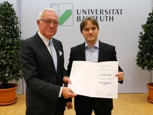 Horst Eggers und Dr. Richard Hildner.