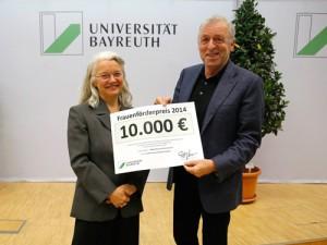Prof. Dr. Karin Birkner und Prof. Dr. Martin Leschke