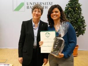 Dr. Beatrice Trost und Dr. Karen Tavares Silva