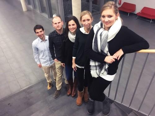 Mitarbeiterinnen und Mitarbeiter aus dem Team Organisation&Technik (Foto: Johanne Haupt)