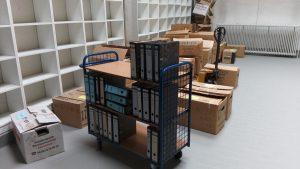 Als archivwürdig übernommene Unterlagen
