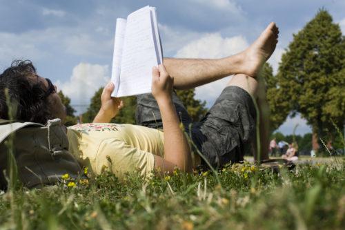 Relaxen auf dem Campus der Universität Bayreuth