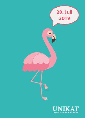Save-the-Date: UNIKAT 20. Juli 2019