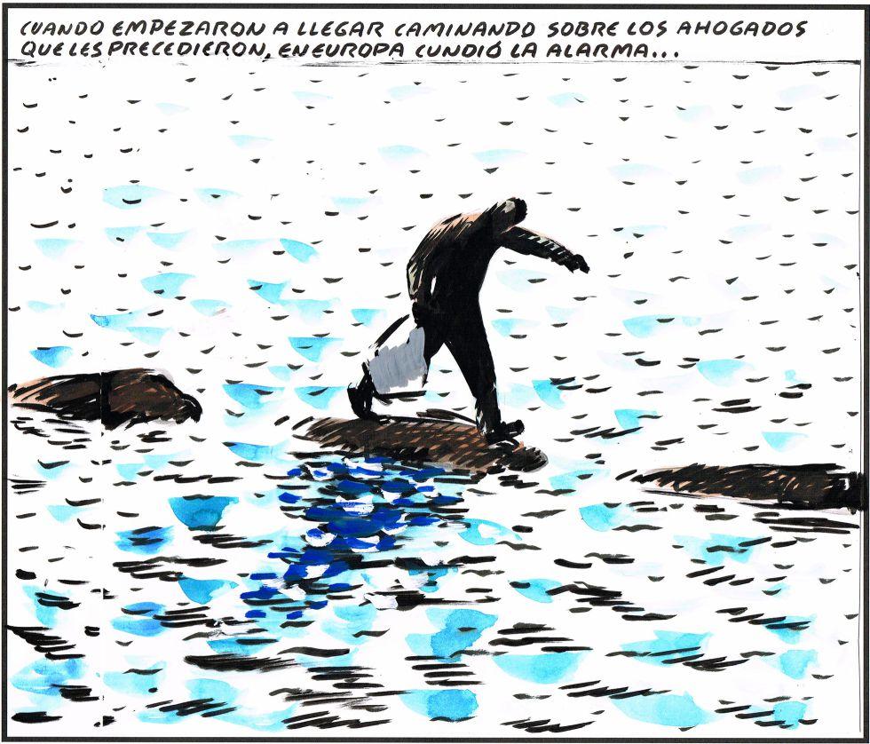 Viñeta de El Roto publicada el 2 de septiembre en El País