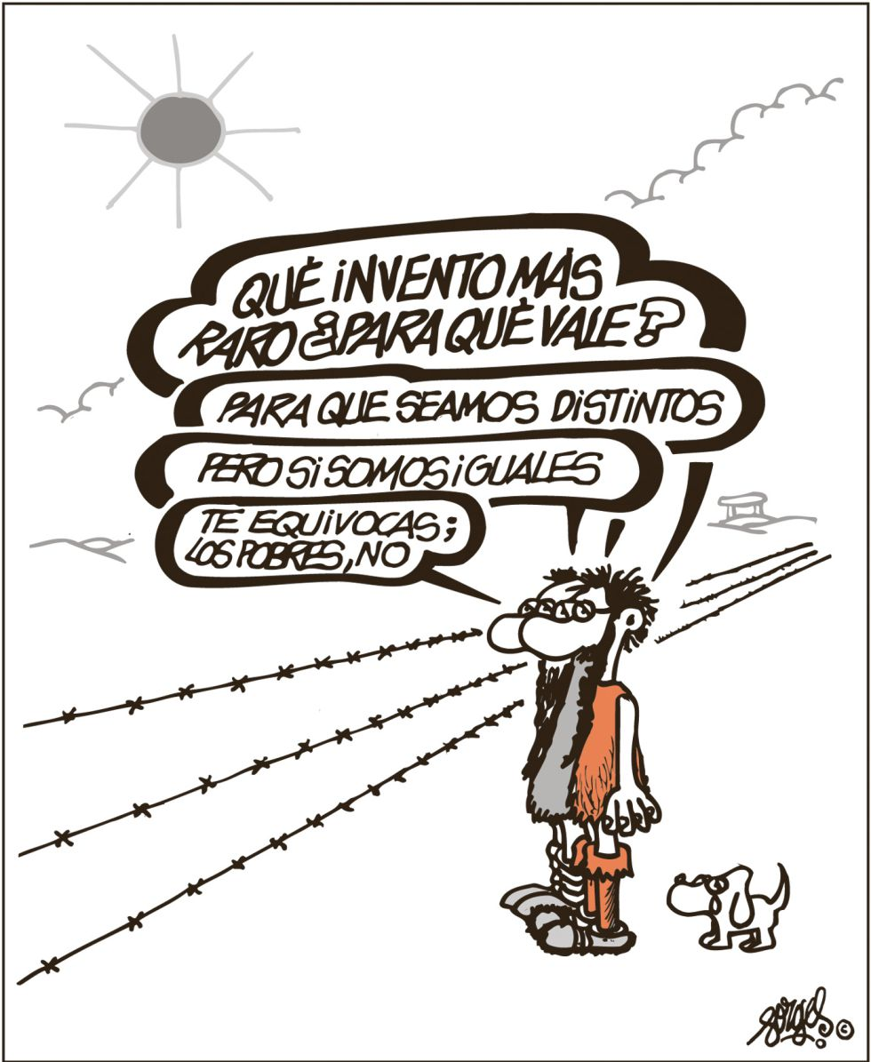 Viñeta de Forges publicada el 4 de septiembre de 2015 en El País