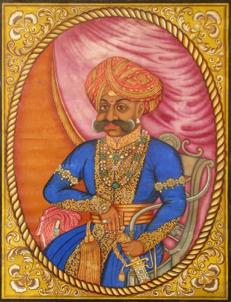 Fig. 1 : Krishnaraja Wodeyar II. Photo Ramsons Kala Pratishtana, Mysore