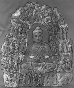 Fig. 19 : Institute of Silk Road Studies Collection Hirayama Kanagawa 105088 (d'après K. Tanabe, 2007, n° I-29, p. 39).