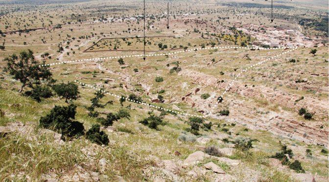 Vestiges archéologiques de la plaine du Sous