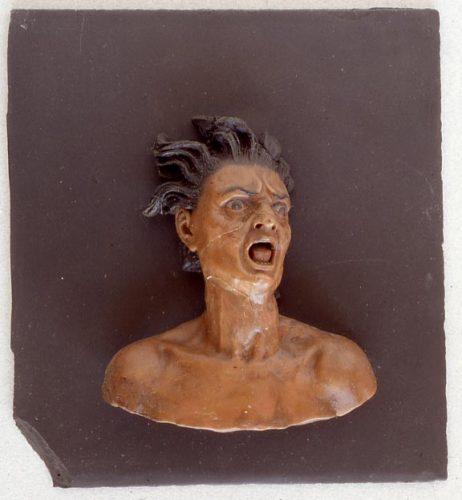 Figure 1. Gaëtano Giulio Zumbo, Âme Damnée, Madrid, Museo Nacional de Artes Decorativas, pièce n. 05463.