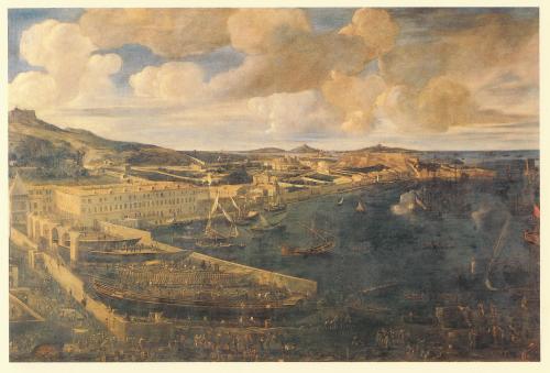 Figure 5. Jean-Baptiste de La Rose, Arsenal des Galères de la ville de Marseille en 1666, Marseille, Musée de la Marine de la Chambre de Commerce de Marseille.