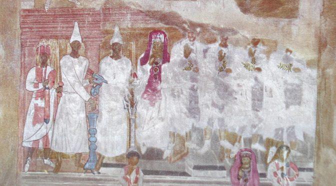 «Les peintures murales de Doura-Europos : sources de l'histoire religieuse de la ville et objets d'art» par Mathilde Couronné