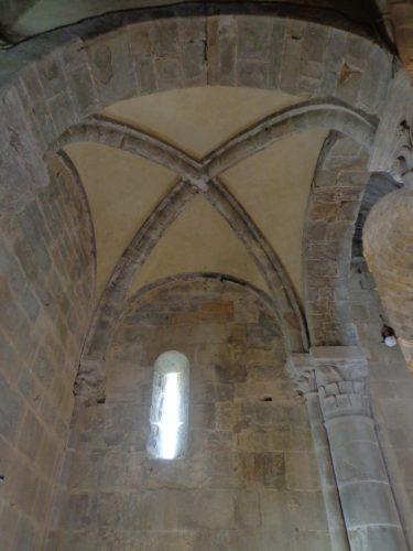 Figure 3. San Pietro a Gropina (Loro Ciufenna, Toscane, Italie), travée orientale nord