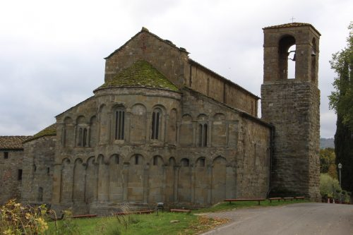 Figure 6. San Pietro di Romena (Pratovecchio, Toscane, Italie), chevet.