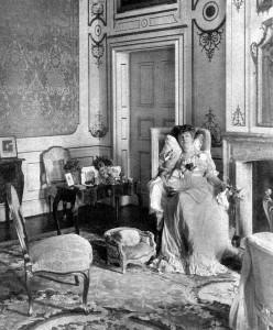 Hedwige de Ligne, duchesse d'Arenberg, à Nordkirchen - cliché Rothe,_1906