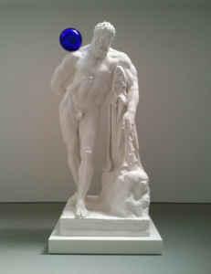 Jeff Koons, Gazing Ball (Farnese Hrrcules), 2013.
