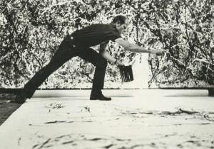 "Pollock, lors d'un ""dripping"""