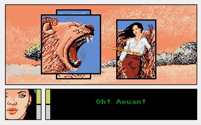 Les passagers du vent 2, Infogram (version Amiga)