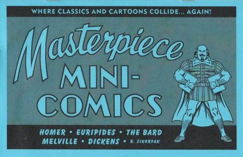 Masterpiece mini-comics, suite auto-publiée de Masterpiece Comics.