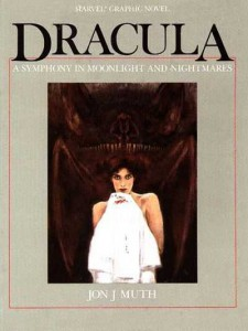 Jon J. Muth, Dracula: A Symphony In Moonlight And Nightmares (Marvel Graphic Novel, 1987)