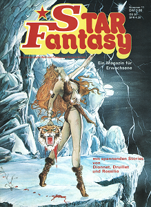 Star Fantasy n°11 (novembre 1978), couverture de Joe Jusko