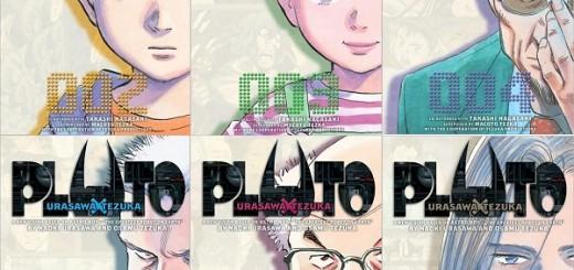 Quelques volumes de Pluto, de Naoki Urazawa