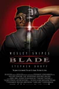 Blade movie poster. Stephen Norrigton (1998).