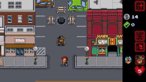 Stranger Things: The Game, pendant le jeu.