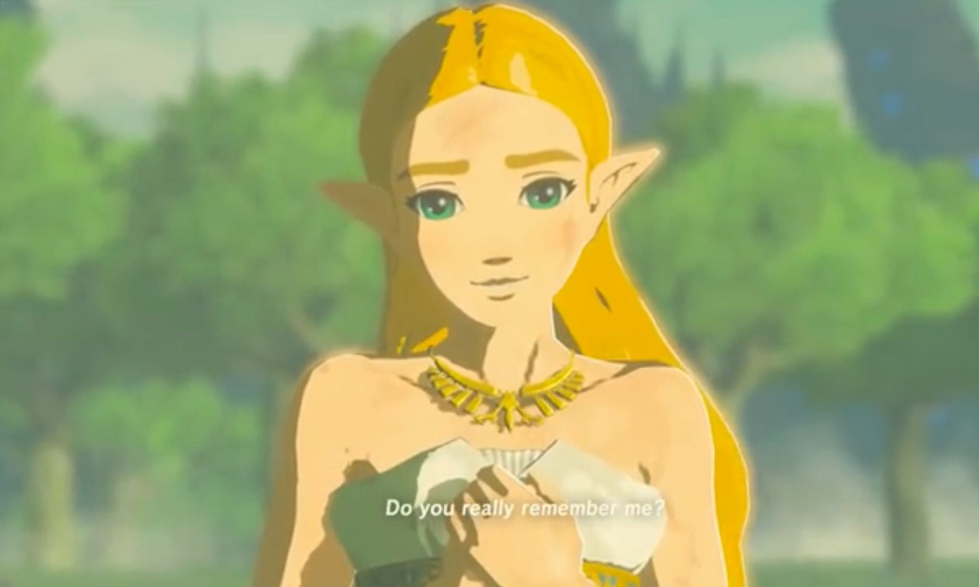 Do You Really Remember Me Ending And Memories In Breath Of The Wild Picturing It