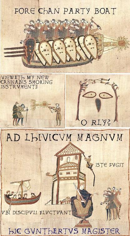 Les r f rences visuelles la tapisserie de bayeux dans la - Comment enlever de la tapisserie facilement ...