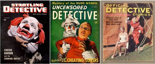 Startling Detective, November 1946 / Uncensored Detective, December 1946 / Official Detective Stories, May 1962