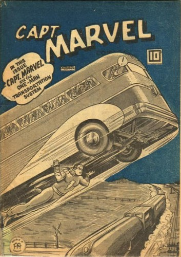 Captain Marvel Comics #v3#10, Anglo-American Publishing Company Limited (Canada), October 1944