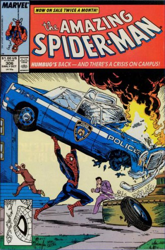 The Amazing Spider-Man #306, Cover art by Todd McFarlane, Early October 1988
