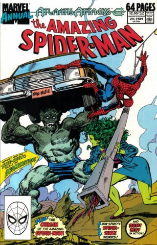 The Amazing Spider-Man Annual #23, 1989 [The Abomination]