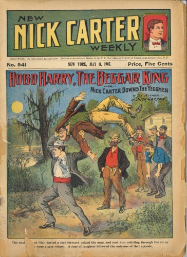 New Nick Carter Weekly #541, May 11, 1907