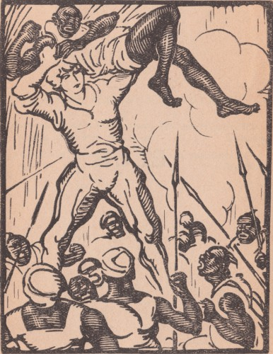 Elle (She), Sir Henry Rider Haggard, Traduction de G. Labouchère, Illustration de Quint, L'Édition Française Illustrée, 1920