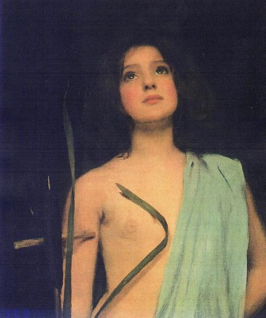 Saint Joan, John William Waterhouse, unknown date - circa 1910
