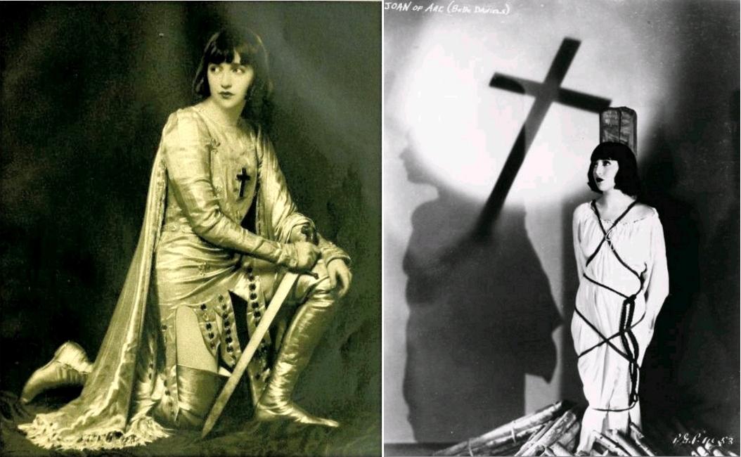 Bebe Daniels as Joan of Arc, magazine Photoplay, September 1926 / Bebe Daniels as Joan of Arc, circa 1926