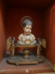 Buste reliquaire de saint Cyr et sainte Julitte - XIXe siècle.