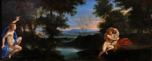 Francesco Albani, Hermaphroditus und Samacis (1630x1640). Quelle: WikiComons; gemeinfrei.