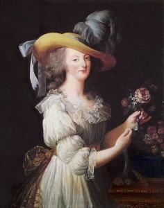 """Le portrait """"à la gaulle"""" de Marie-Antoinette, par Elisabeth Vigée-Lebrun"""