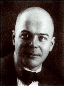 Photo de Victor Chklovsky - source Wikipédia