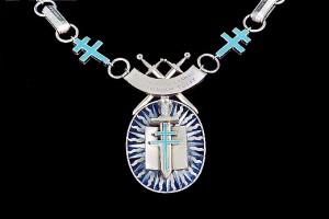 Détail du collier du Grand Maître de l'Ordre de la Libération.