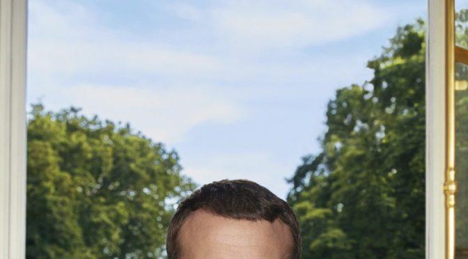 Portrait du roi, portrait du président (3). Le bureau d'Emmanuel Macron