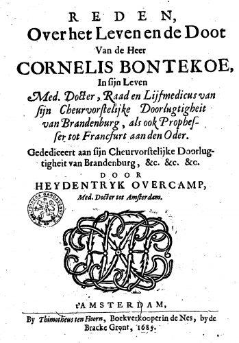 Buch Bontekoe