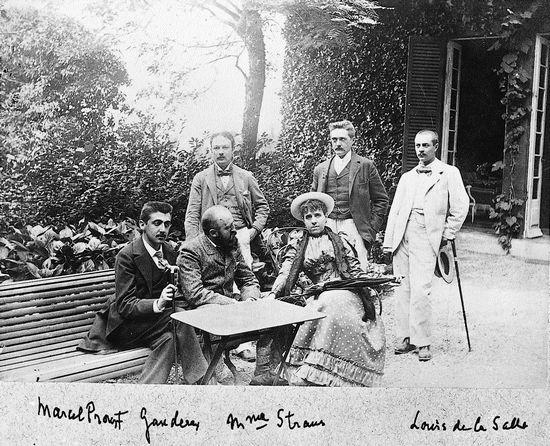 Marcel Proust, (c) BNF, http:::classes.bnf.fr:portrait:grande:aj65.htm